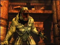 Doom 3 screenshot, Activision
