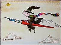 Uno de los dibujos de Quino (Copyright Quino)