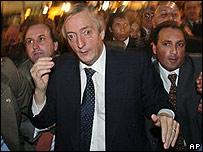 Presidente de Argentina Néstor Kirchner