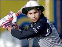 UAE batsman Syed Maqsood