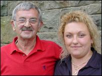 Alfie Passey and Alison Moore