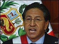 President Alejandro Toledo