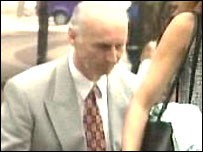 Dr Roy Murray arriving at court