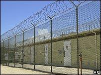 Medium security facility of Camp Delta 4 at the Guantanamo Bay Naval Base, Cuba