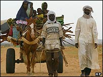 Sudanese refugees in Chad