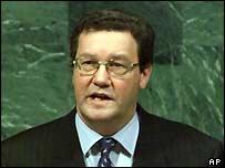 Australian Foreign Minister Alexander Downer