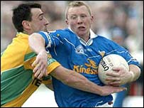 Jason O'Reilly (right) was in fine form for Cavan