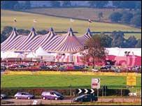 Safle eisteddfod Casnewydd 2004