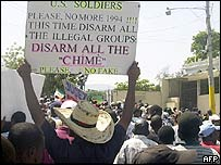 Protest in Port-au-Prince