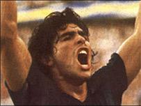 Maradona en sus tiempos de gloria (Foto, gentileza Boca Juniors)