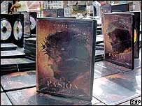 The Passion of the Christ DVDs on sale in Mexico