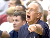USA basketball coach Larry Brown