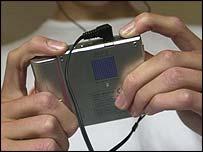 Sony minidisc Walkman, BBC