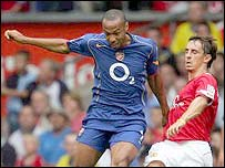 Thierry Henry and Gary Neville resume hostilities
