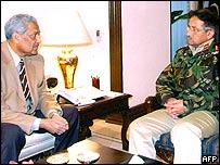President Musharraf and AQ Khan