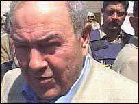 Iyad Allawi in Najaf