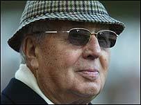 Aston Villa chairman Doug Ellis