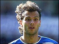 Portsmouth midfielder Patrik Berger