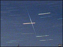 Perseid meteor shower, AP