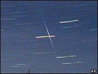 Perseid meteor shower, AP