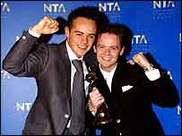 Photograph of Ant and Dec