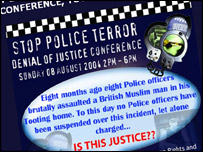 A Muslim campaign group, Stop Police Terror