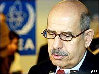 IAEA chief Mohammed ElBaradei