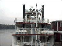 Riverboat in Missouri