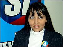 Delsa Sol�rzano, opositora venezolana