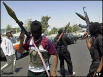 Iraqi militants in the southern city of Basra