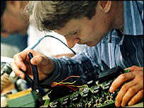Microchip worker (Eyewire)