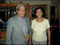 Pedro Segnini y Enma La Cruz