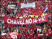 Seguidores de Hugo Ch�vez