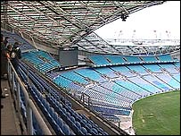 Telstra stadium in Sydney Olympic Park