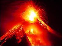 Volcano, BBC