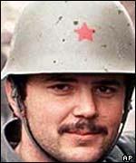 Miroslav Radic in Vukovar in 1991