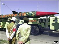 Pakistan's Shaheen 2 missile