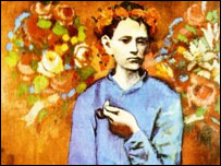 Picasso's Boy with a Pipe