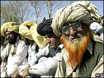 South Waziristan tribal members