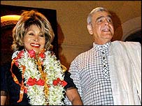 Tina Turner and Ismail Merchant