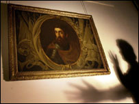 William Wallace portrait at the Stirling Smith Art Gallery and Museum
