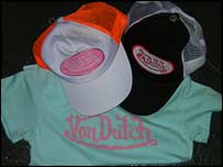 Fake Von Dutch clothing