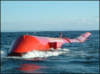 Ocean Power Delivery's Pelamis system