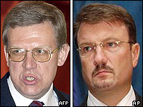 Alexei Kudrin and German Gref