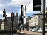Glasgow advert