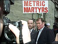 Metric martyr Steven Thoburn