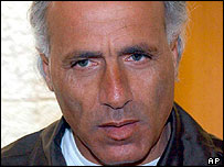 Mordechai Vanunu seen at the Supreme Court in Jerusalem on 13 May 2002