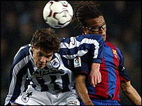 Xabi Alonso and Edgar Davids
