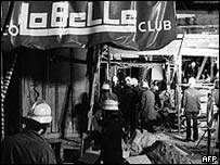 Firefighters in the La Belle after the explosion