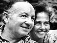 Leon Klinghoffer with his wife Marilyn